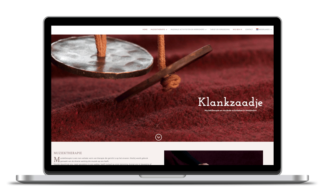 Web Design for Klankzaadje