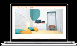 Website Design for Lalunadiroma bed and breakfast