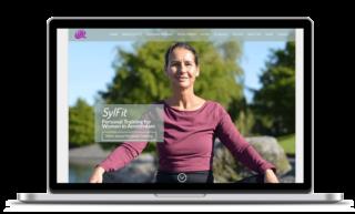 Custom WordPress design for Sylfit